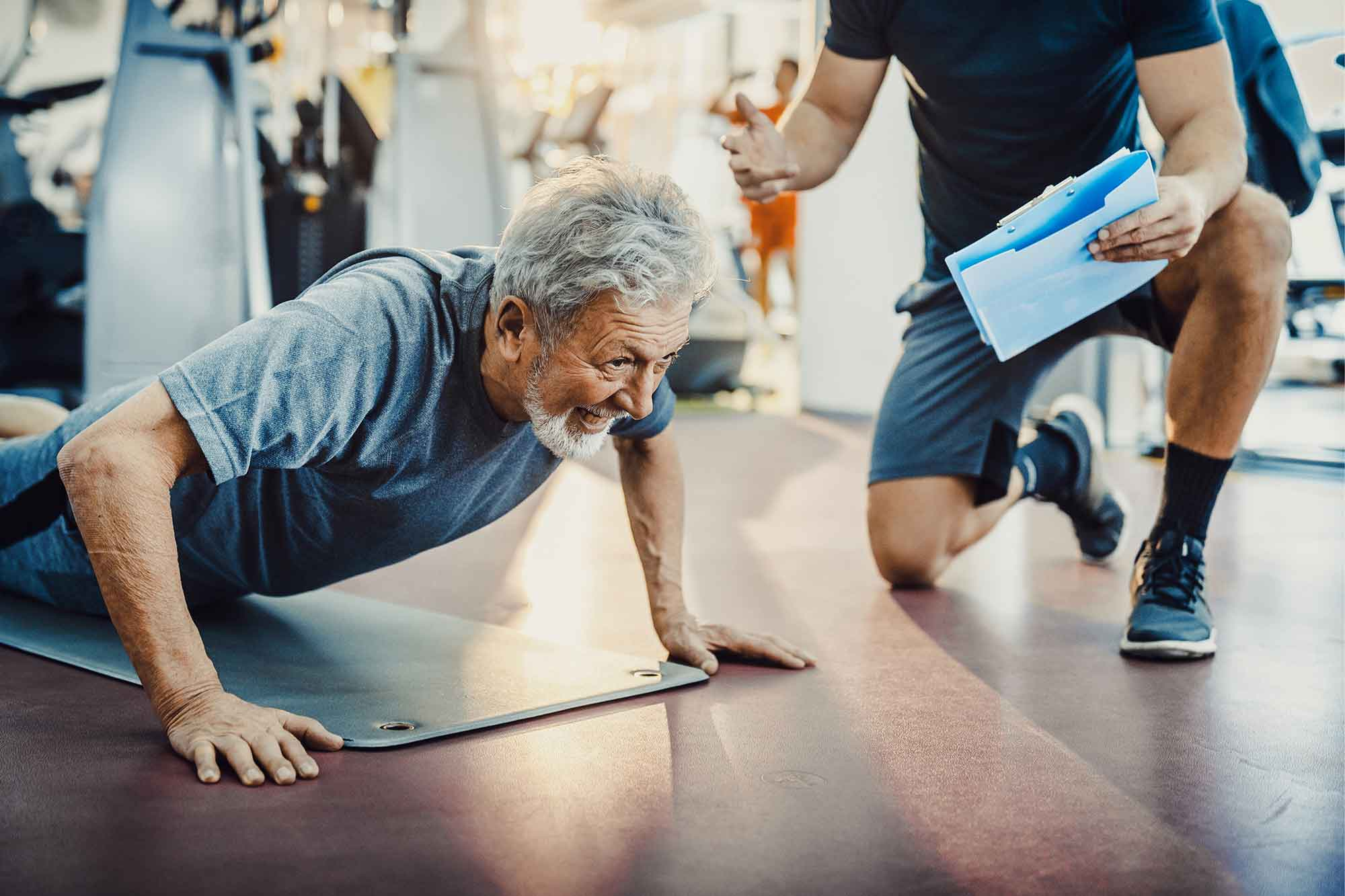 Personal trainer older adults